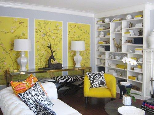 Фотография: Гостиная в стиле Эклектика, Декор интерьера, Квартира, Стиль жизни, Советы – фото на INMYROOM