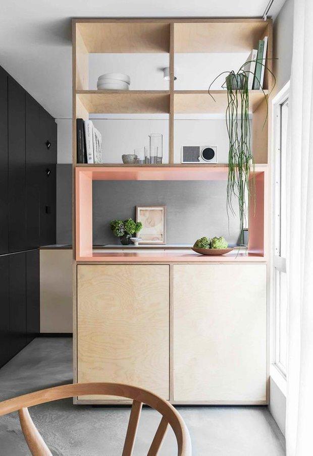 Фотография: Кухня и столовая в стиле Минимализм, Декор интерьера, Белый, Серый, до 40 метров – фото на INMYROOM