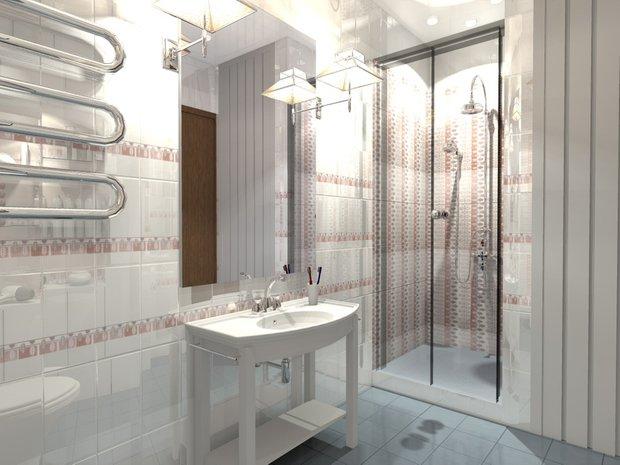 Фотография: Ванная в стиле Классический, Интерьер комнат – фото на INMYROOM