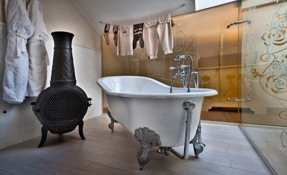Фотография: Ванная в стиле Прованс и Кантри, Дома и квартиры, Городские места, Отель, Модерн, Милан, Замок – фото на InMyRoom.ru