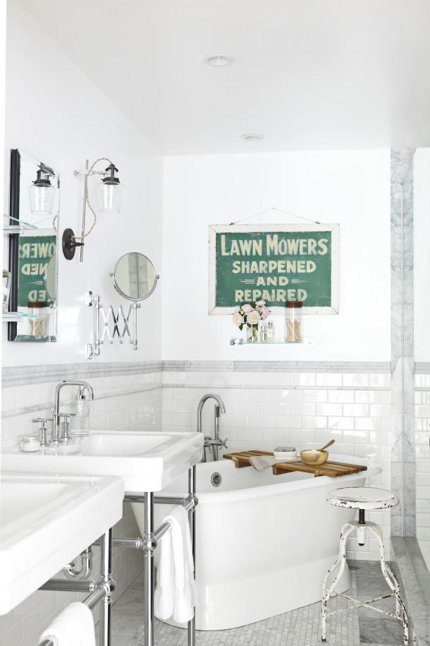 Фотография: Ванная в стиле Лофт, Декор интерьера, DIY, Интерьер комнат, Переделка – фото на INMYROOM