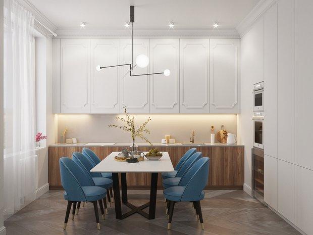 Фотография: Кухня и столовая в стиле Современный, Классический, Декор интерьера, Советы, «Точка дизайна» – фото на InMyRoom.ru