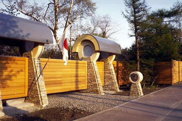 Фотография: Архитектура в стиле Современный, Эклектика, Декор интерьера, Дом, Дома и квартиры, Архитектурные объекты, Япония – фото на INMYROOM
