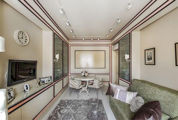 Фотография: Гостиная в стиле Прованс и Кантри, Кабинет, Интерьер комнат – фото на INMYROOM