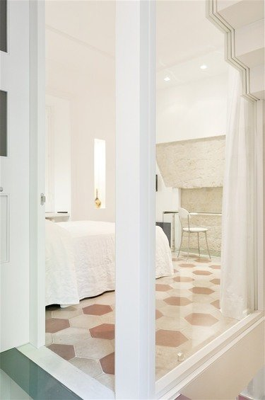 Фотография: Спальня в стиле Прованс и Кантри, Дом, Цвет в интерьере, Дома и квартиры – фото на INMYROOM