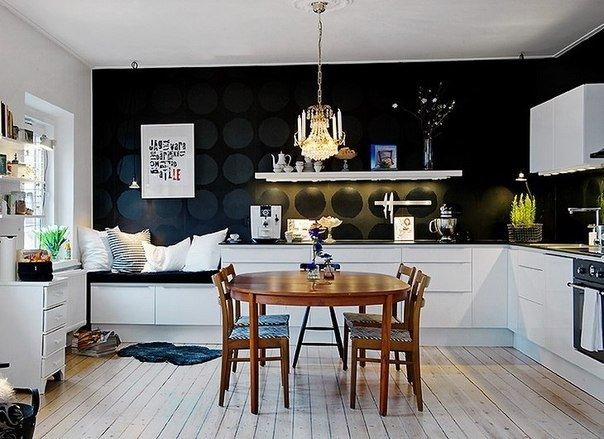 Фотография: Кухня и столовая в стиле Современный, Дизайн интерьера, Цвет в интерьере – фото на INMYROOM