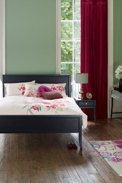 Фотография: Спальня в стиле Современный, Декор интерьера, Дизайн интерьера, Цвет в интерьере, Краска – фото на INMYROOM