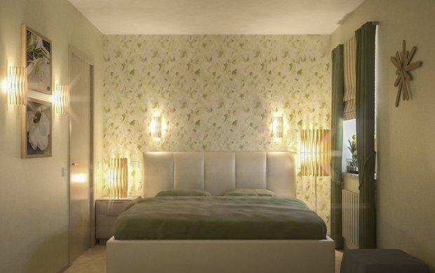 Фотография: Спальня в стиле Современный, Малогабаритная квартира, Дома и квартиры – фото на INMYROOM