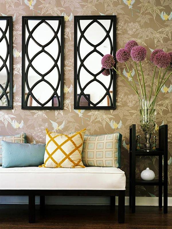 Фотография: Мебель и свет в стиле Современный, Эклектика, Гостиная, Интерьер комнат, Диван, Потолок – фото на INMYROOM