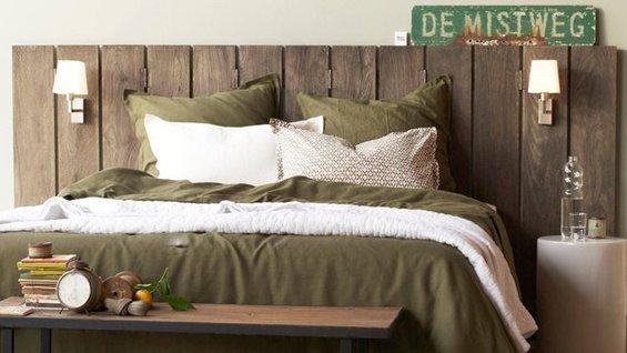 Фотография: Спальня в стиле Лофт, Скандинавский, Декор интерьера, DIY, Мебель и свет – фото на INMYROOM