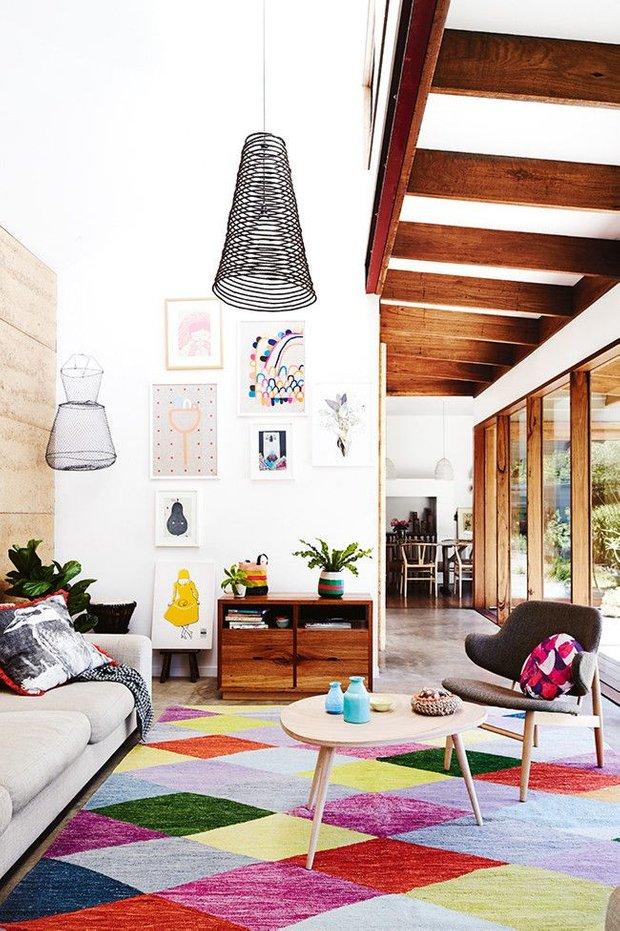 Фотография: Гостиная в стиле Лофт, Скандинавский, Дизайн интерьера, Декор – фото на INMYROOM
