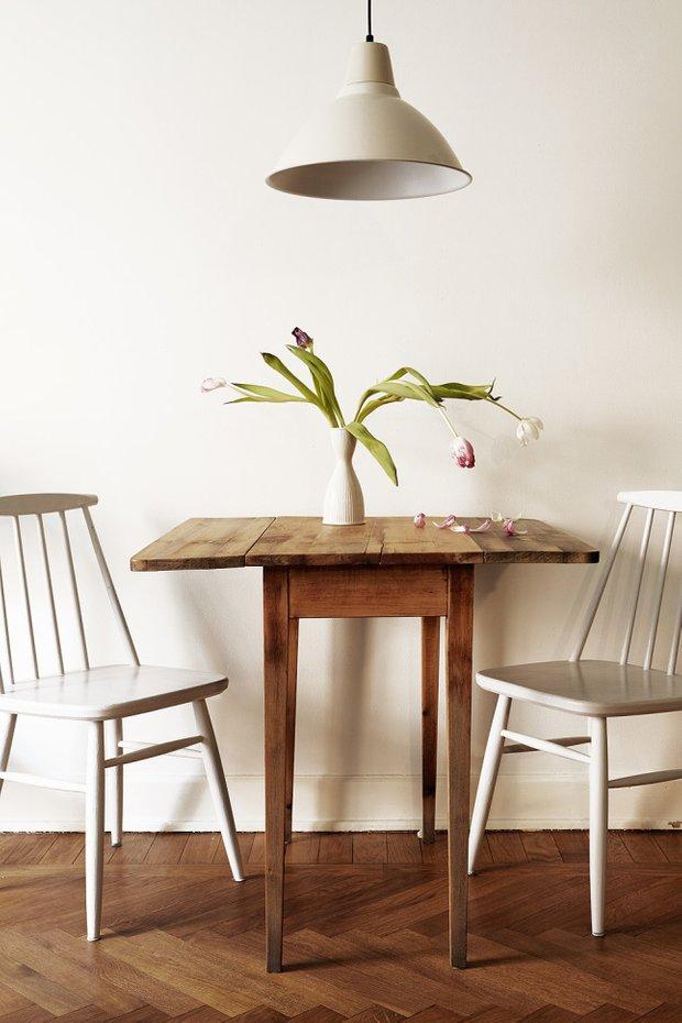 Фотография: Мебель и свет в стиле Скандинавский, Минимализм, Эко, Декор интерьера, Малогабаритная квартира, Квартира – фото на INMYROOM