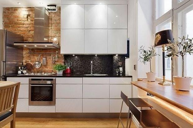 Фотография: Спальня в стиле Прованс и Кантри, Кухня и столовая, Гостиная, Декор интерьера, Квартира, Студия, Дом, барная стойка на кухне, кухня-гостиная с барной стойкой – фото на INMYROOM
