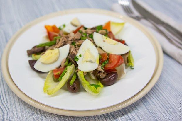 Фотография:  в стиле , Ужин, Перекусить, Сырым, Зелень, Французская кухня, Кулинарные рецепты – фото на INMYROOM