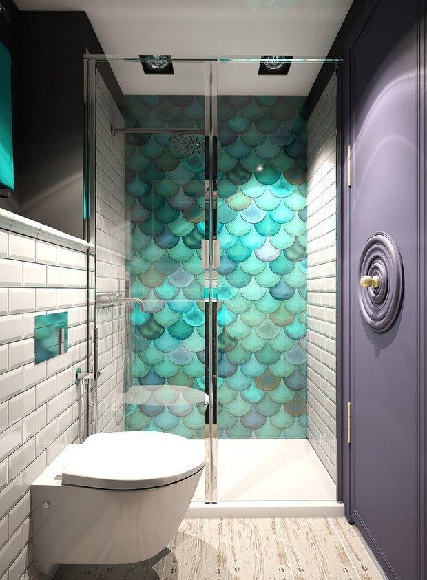 Фотография: Ванная в стиле Современный, Декор интерьера, Советы, актуальный интерьер – фото на INMYROOM