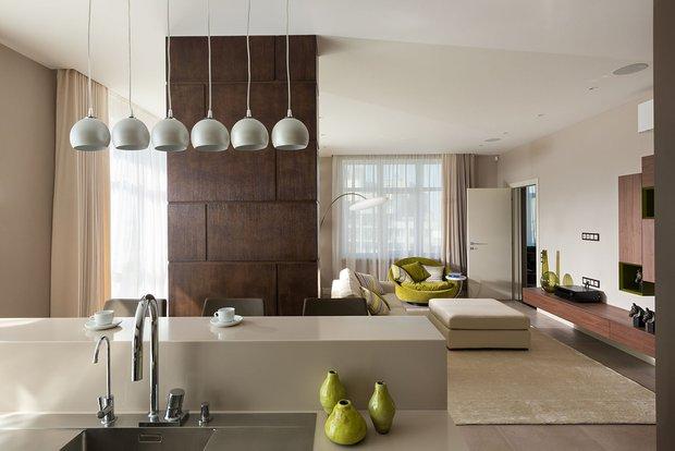 Фотография: Кухня и столовая в стиле Современный, Минимализм, Классический, Квартира, Проект недели – фото на INMYROOM