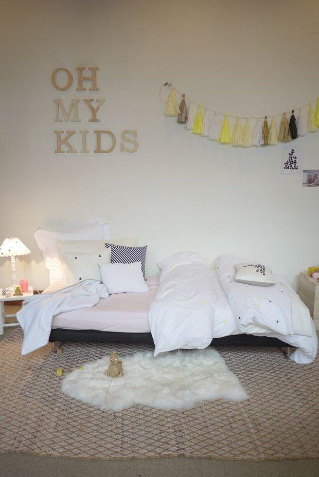 Фотография: Детская в стиле Скандинавский, Декор интерьера, Интерьер комнат, Обои – фото на INMYROOM
