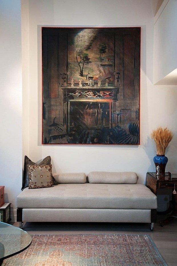 Фотография: Мебель и свет в стиле Восточный, Классический, Современный, Декор интерьера, Декор дома, Цвет в интерьере, Советы, Картина, Неоклассика – фото на INMYROOM