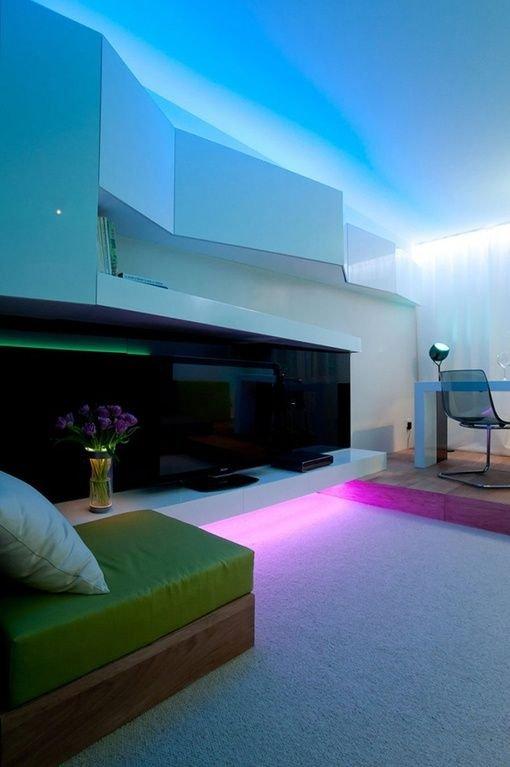 Фотография: Гостиная в стиле Современный, Хай-тек, Декор интерьера, Декор, Мебель и свет, освещение – фото на INMYROOM