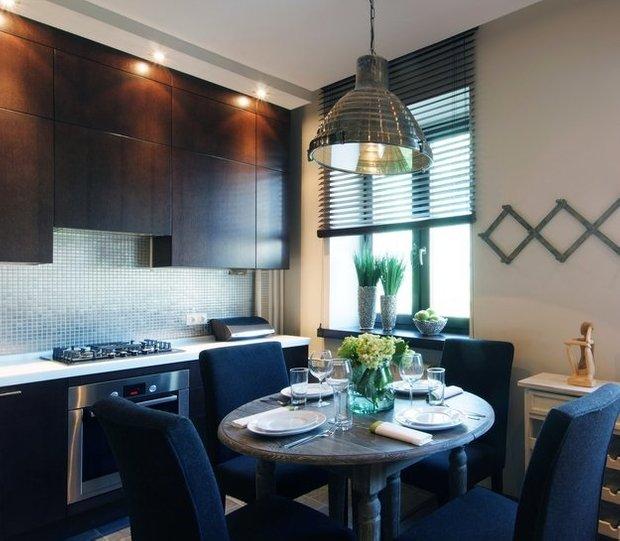 Фотография: Кухня и столовая в стиле Лофт, Декор интерьера, Малогабаритная квартира, Квартира, Дома и квартиры – фото на INMYROOM