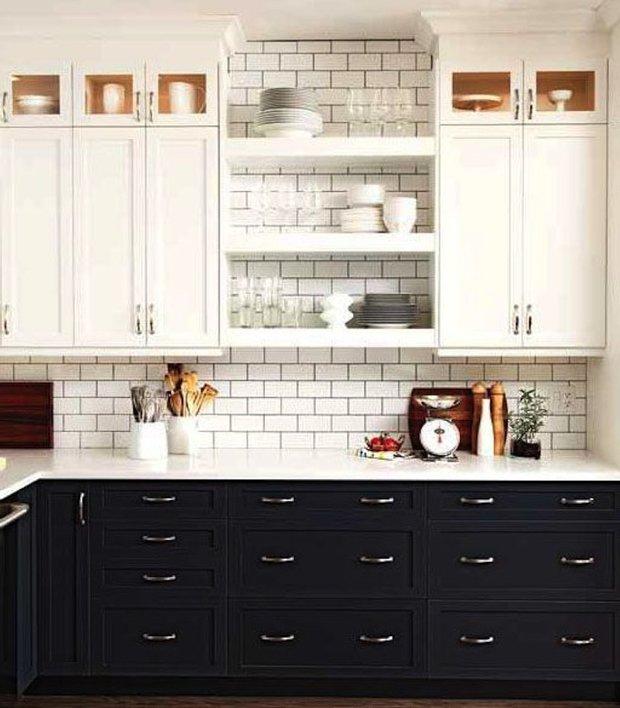 Фотография: Кухня и столовая в стиле Прованс и Кантри, Скандинавский, Интерьер комнат, Цвет в интерьере, Белый – фото на INMYROOM