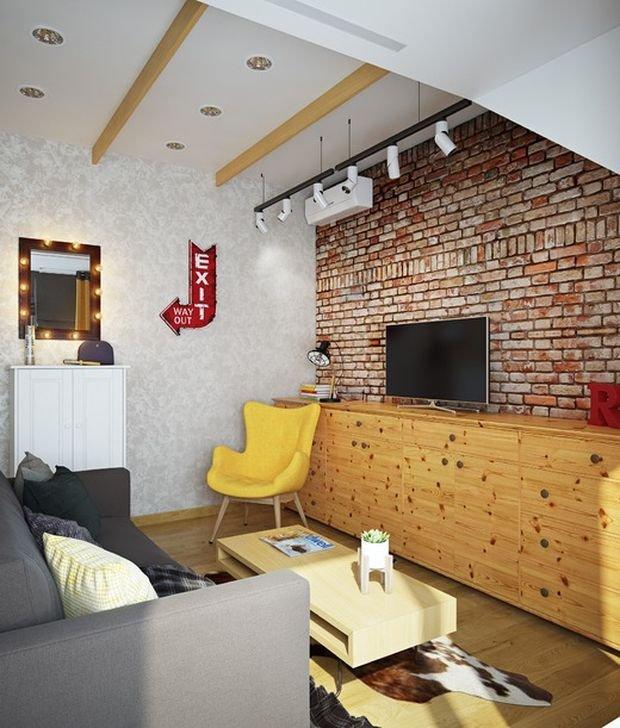 Фотография: Гостиная в стиле Прованс и Кантри, Лофт, Декор интерьера, Малогабаритная квартира, Квартира, Дом, Декор – фото на INMYROOM