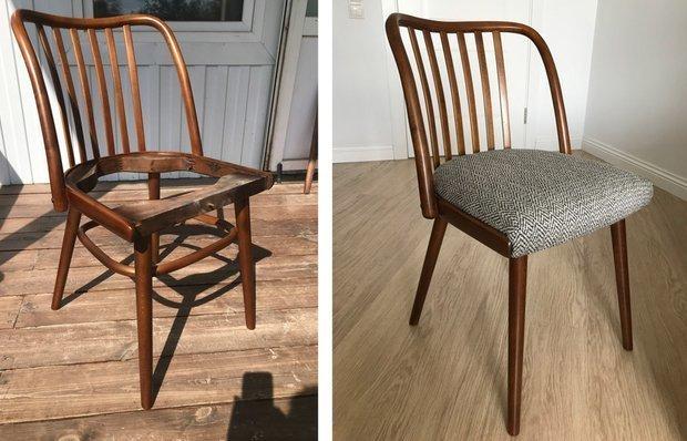Фотография:  в стиле , DIY, идеи переделки старой мебели – фото на INMYROOM