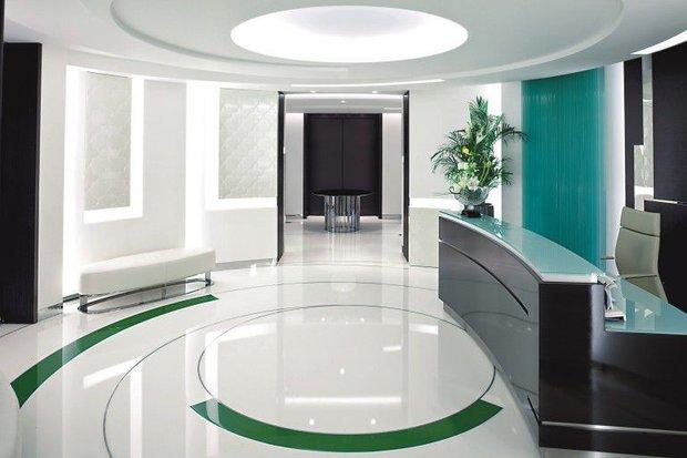 Фотография: Офис в стиле Хай-тек, Ремонт на практике, напольное покрытие – фото на INMYROOM