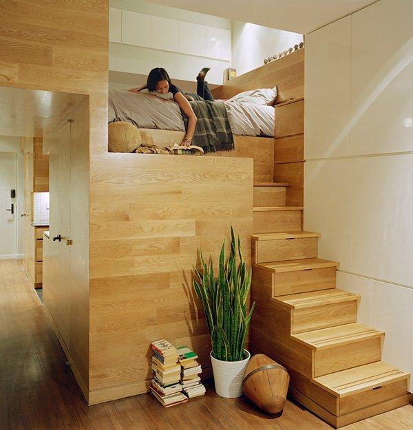 Фотография: Спальня в стиле Современный, Декор интерьера, Квартира, Мебель и свет, Подиум – фото на INMYROOM