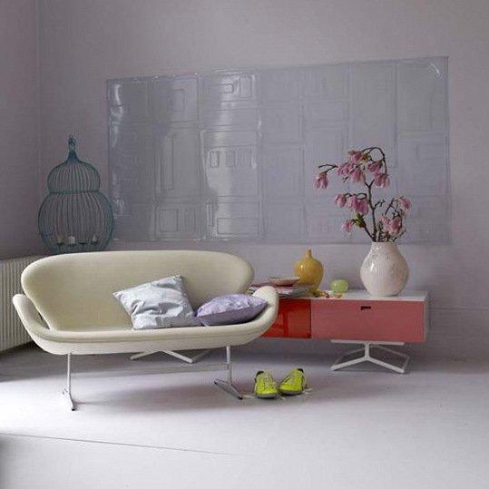 Фотография: Мебель и свет в стиле Минимализм, Гостиная, Декор интерьера, Квартира, Дом, Интерьер комнат – фото на INMYROOM
