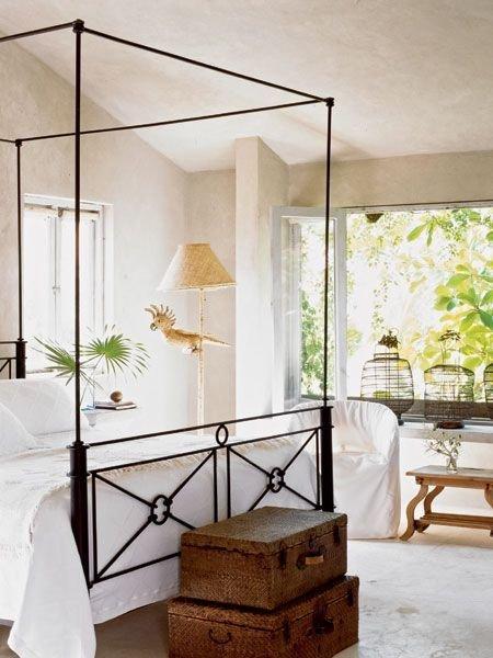Фотография: Спальня в стиле Скандинавский, Восточный, Декор интерьера, Декор дома, Плетеная мебель – фото на INMYROOM