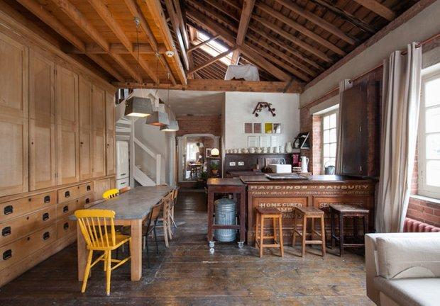 Фотография: Кухня и столовая в стиле Лофт, Декор интерьера, Квартира, Дома и квартиры, Проект недели, Илья Беленя – фото на INMYROOM