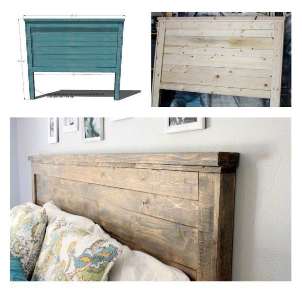 Фотография:  в стиле , Спальня, DIY, кровать в спальне, мебель – фото на INMYROOM