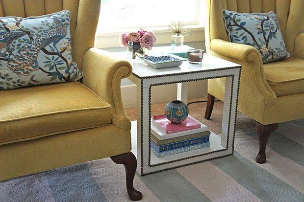 Фотография: Гостиная в стиле Классический, Современный, Декор интерьера, Мебель и свет, IKEA, Переделка – фото на INMYROOM