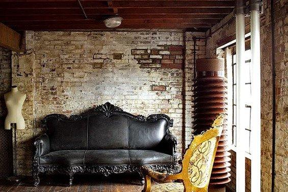 Фотография: Гостиная в стиле Прованс и Кантри, Стены, Шебби-шик, Барокко – фото на INMYROOM