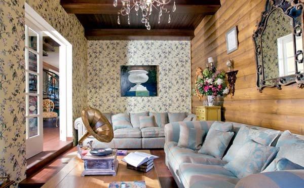 Фотография: Гостиная в стиле , Прованс и Кантри, Декор интерьера, Мебель и свет, Деревенский – фото на INMYROOM
