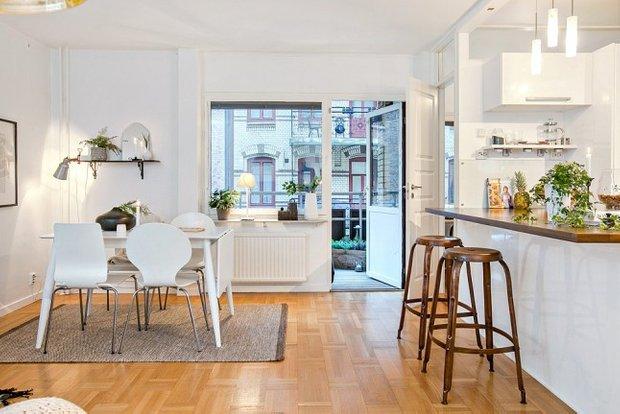 Фотография: Кухня и столовая в стиле Скандинавский, Декор интерьера, Квартира, Аксессуары, Декор, Белый – фото на INMYROOM