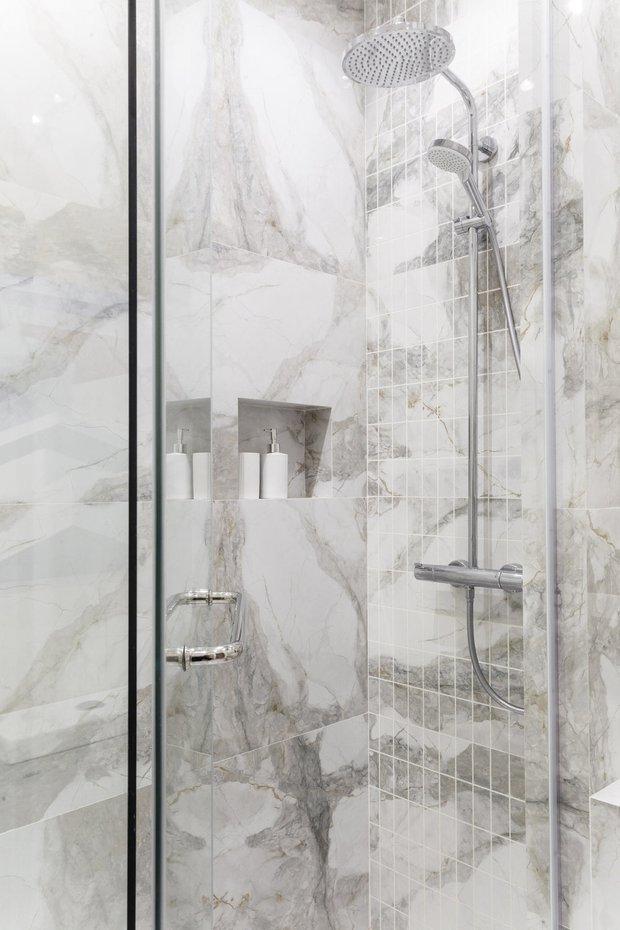 Фотография:  в стиле , Ванная, Гид, Cersanit, керамогранит под дерево – фото на INMYROOM