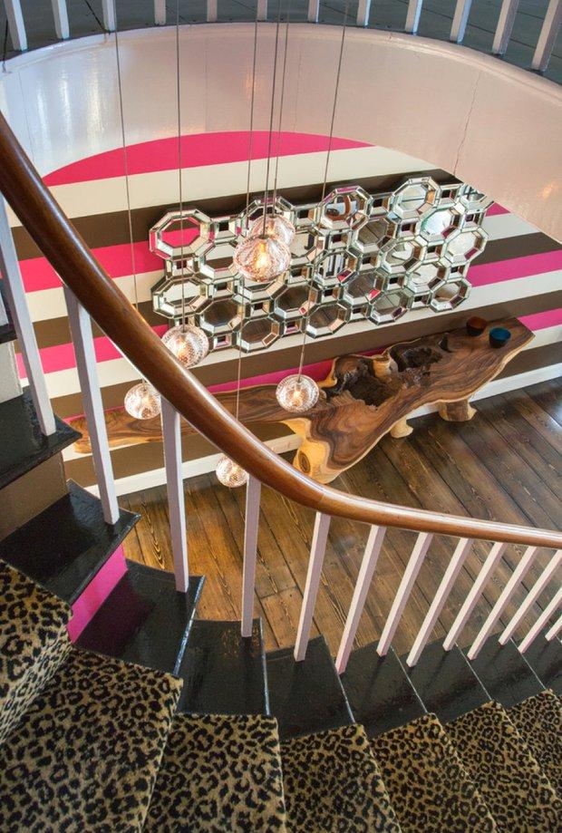 Фотография: Прихожая в стиле , Дом, Дома и квартиры, Интерьеры звезд – фото на INMYROOM