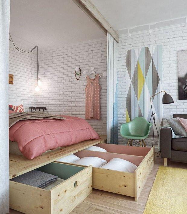 Фотография: Спальня в стиле Скандинавский, Советы, Гид – фото на INMYROOM