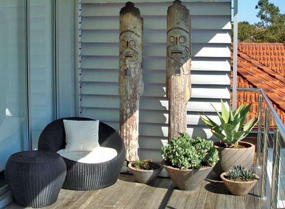Фотография: Балкон в стиле Эко, Декор интерьера, Квартира, Интерьер комнат – фото на INMYROOM