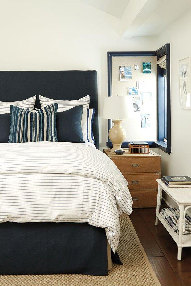 Фотография: Спальня в стиле Прованс и Кантри, Декор интерьера, Дизайн интерьера, Декор, Цвет в интерьере, Морской – фото на INMYROOM