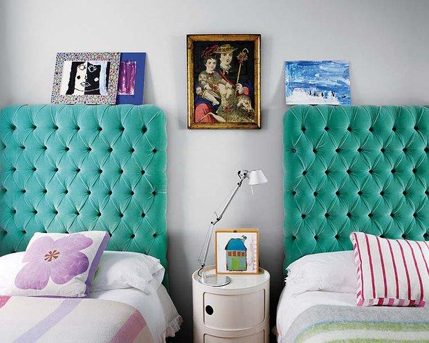 Фотография: Спальня в стиле Скандинавский, Современный, Эклектика, Декор интерьера, Дизайн интерьера, Цвет в интерьере – фото на INMYROOM