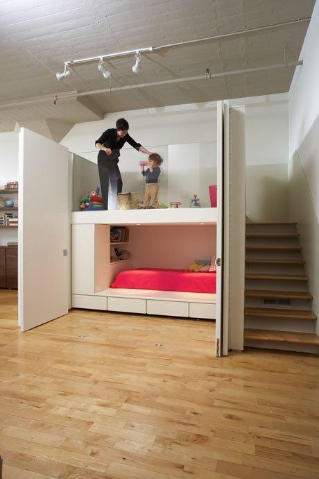 Фотография: Детская в стиле Современный, Декор интерьера, Квартира, Мебель и свет, Подиум – фото на INMYROOM