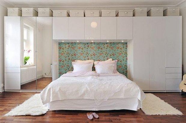 Фотография:  в стиле , Спальня, Малогабаритная квартира, Советы, Askona, Аскона, «Аскона» – фото на INMYROOM