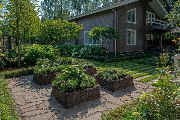 Дизайн: BUGAEV Park & Gardens