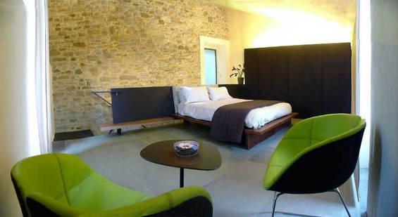 Фотография: Спальня в стиле Минимализм, Италия, Дома и квартиры, Городские места, Отель – фото на INMYROOM