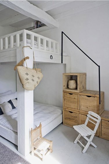 Фотография: Детская в стиле Скандинавский, Спальня, Декор интерьера, Интерьер комнат, Хрущевка – фото на INMYROOM
