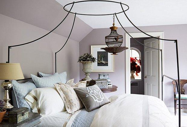 Фотография: Спальня в стиле Прованс и Кантри, Декор интерьера, Аксессуары, Декор, Белый, Черный, Желтый, Серый, Бирюзовый – фото на INMYROOM