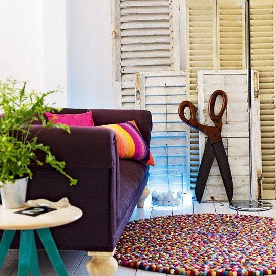 Фотография: Декор в стиле Прованс и Кантри, Гостиная, Декор интерьера, Квартира, Дом, Интерьер комнат – фото на INMYROOM